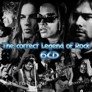 The Correct Legend of Rock (6CD) (2020)