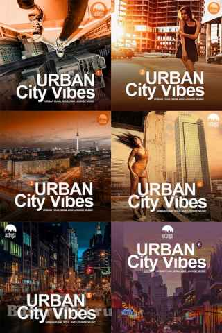 Urban City Vibes, vol. 1-6 (Urban Funk, Soul and Lounge Music) (2018-2020) AAC