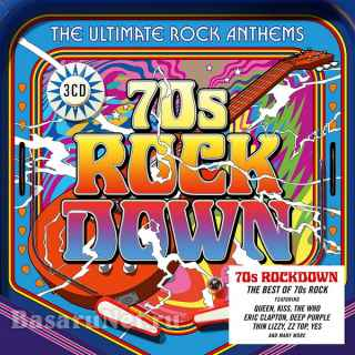 70s Rock Down The Ultimate Rock Anthems (3CD) (2020)
