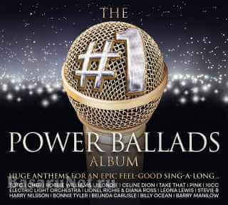 The #1 Power Ballads Album (3CD) (2020)