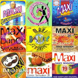 Maxi Dance Sensation 90s Vol.1-27 (1990-1997)