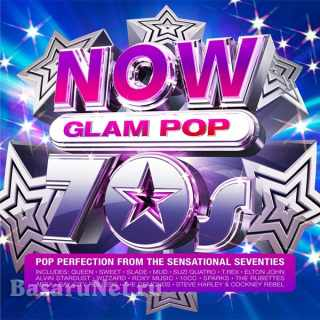 NOW Glam Pop 70s (4CD) (2021)