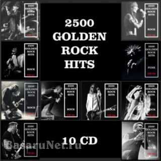 2500 Golden Rock Hits (10CD) (2019)