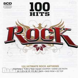 100 Hits - Rock (5CD) (2007) FLAC
