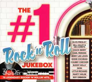 The #1 Album Rock N Roll Jukebox (3CD) (2020)