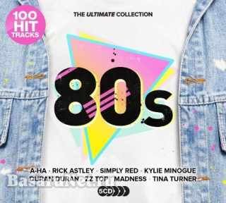 Ultimate Collection 80s (100 Hit Tracks) (5CD) (2021) FLAC