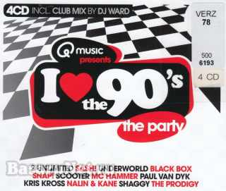 I Love The 90s: The Home Party Edition (4CD) (2021)