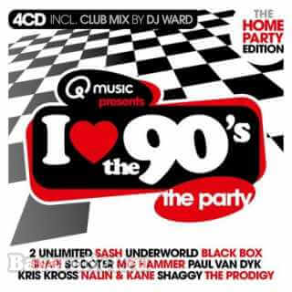 I Love The 90s - The Home Party Edition (4CD) (2021) FLAC
